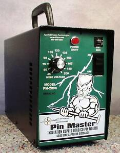 Insulation Pin Stud Fastener Welder Pm 2000 Pinmaster