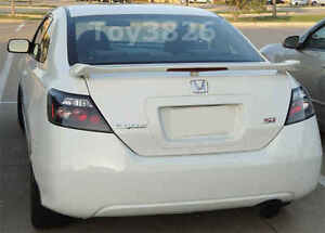 2006 2011 Honda Civic 2dr Coupe Factory Si Style Spoiler Rear Wing Primer
