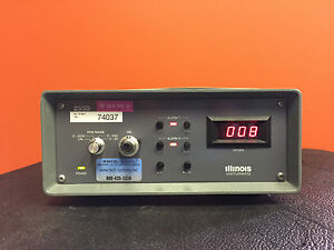 Illinois Instruments 2550 0 To 20 200 2000 Ppm Ranges Oxygen Analyzer