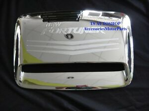 Chrome Hood Scoop Cover Trim For New Toyota Fortuner 2012 V 5