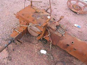 Ih International Farmall H Super H Transmission Rear End