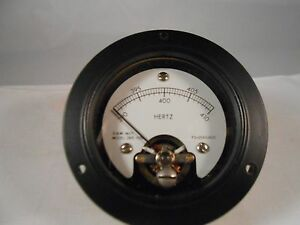 265 1108 Frequency Meter 390 410 New Old Stock 2 1 2