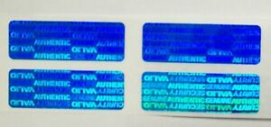 1000 Swl Blue Svag 5 X 1 5 Warranty Protection High Security Label Stickers