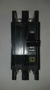 Square D Qouq245b Circuit Breaker 45 Amp 2 Pole Series 3 Type Qou