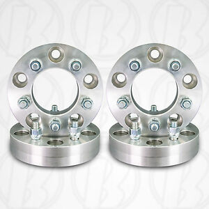 Four 5 Lug 5 5 To 5 X 4 75 Wheel Adapters Spacers 1 5 W studs