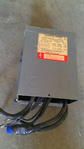 Used Square D 750sv43f 750 Kva Dry Type Single Phase Transformer