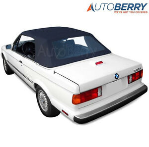 Bmw E30 325i 320i 318i M3 Convertible Soft Top W Plastic Window 87 93 3 series
