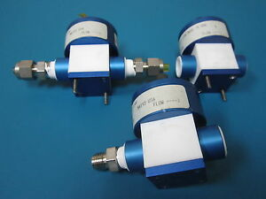Lot Of 3 Parker Pv 2 1144 Diaphragm Valve 1 4