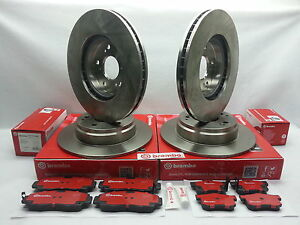 Genuine Brembo Set Rotors Brake Pads 2 front 2 rear Acura Tl 1999 2008