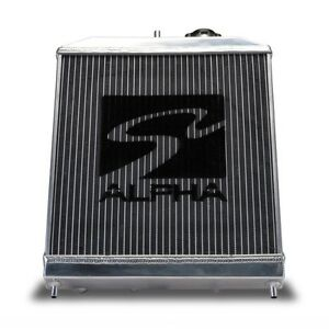 Skunk2 349 05 2000 Alpha Series Aluminum Radiator With Cap 92 00 Civic Eg Ek