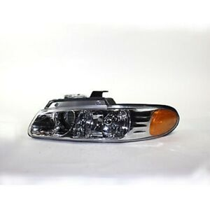 For 2000 Chrysler Town Country Dodge Caravan W Quad Lh Head Lamp