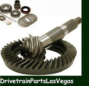 Dana 60 4 56 Ratio Ring And Pinion Gear Set W Pinion Install Kit Chevy Dodge For