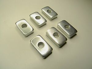 Set Of 6 Each Hard Top Oem Nut New For 2002 To 2006 Jeep Wrangler Tj