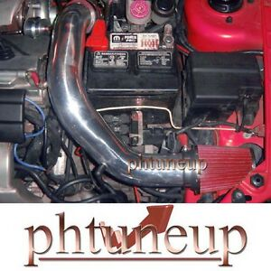 Red 2003 2005 Dodge Neon Srt 4 Srt4 2 4 2 4l Turbocharged Air Intake Kit