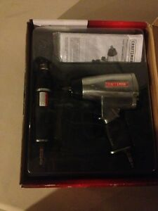 Craftsman Ratchet Impact Wrench Combination Kit