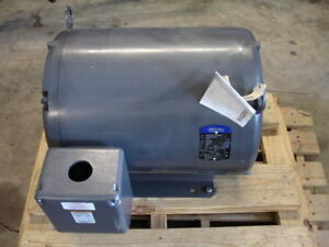 Gentec 37kw Induction Generator 230 460 Volts 1800 Rpm 60hz 3 Phase New