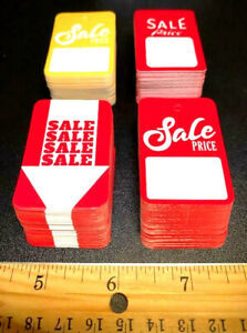 Multi pack Of 200 1 Tags In The Industry Asstd Retail Store Sale Price Tags
