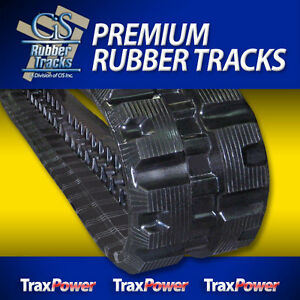 Bobcat T180 T190 T550 T590 T595 Cat Caterpillar 239 12 Rubber Track