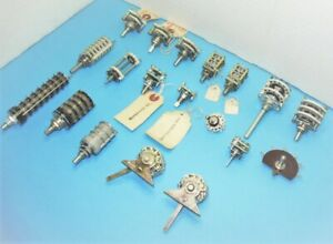 Assortment Of Rotary Switches Crl daven grayhill janco oak