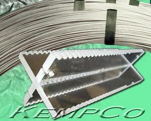 X4 Kempco Hho Cell Tower Blank 045 316l Ss Wire free Gasket