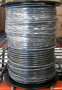 Thhn thwn 500 Ft 10 Awg Stranded Copper Wire Black