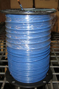 Thhn thwn 500 Ft 10 Awg Stranded Copper Wire Blue