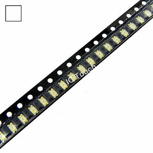 1000pcs White Smd Smt Led 1206 Superbright White Leds Lamp Light