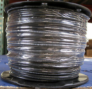 Thhn thwn 500 Feet 12 Awg Stranded Copper Wire Black