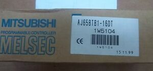 Mitsubishi Melsec Aj65btb1 16dt Cc link I o Unit Ship Today 12 Mo Warranty