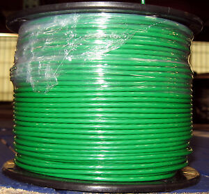 Thhn thwn 500 Feet 12 Awg Stranded Copper Wire 600 Volts 20 Amp Green
