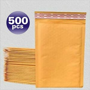 Yens 500 000 Kraft Bubble Padded Envelopes Mailers 4 X 8