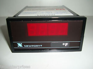 Newport Quanta Q 2040 E Digital Temperature Panel Meter 0 250 F Temp Gauge