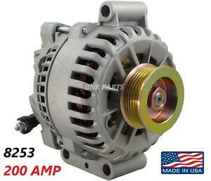 200 Amp 8253 Alternator Ford Windstar 1999 2003 3 8l V6 New High Output Hd