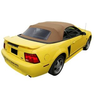 Ford Mustang Convertible Soft Top With Plastic Window Saddle Sailcloth 1994 2004