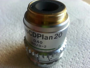 Olympus Ulwd Cd Plan 20x Objective