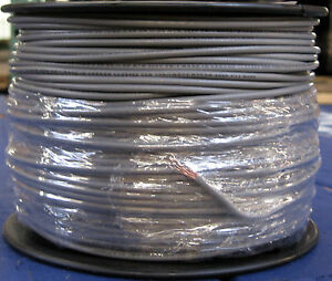 Thhn thwn 500 Feet 12 Awg Stranded Copper Wire 600 Volts 20 Amps Gray