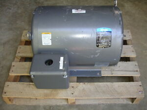 Gentec 22kw Induction Generator 230 460 Volts 1800 Rpm 60hz 3 Phase New