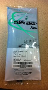 Clearfil Majesty Flow Light cured Restorative Dental Flowable Composite Kuraray