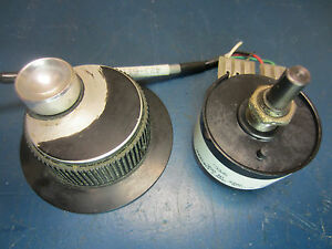 Disc Instruments Pc62d 200 5 Optical Shaft Encoder From Hurco Ultimax