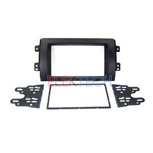 Double Din Radio Replacement Dash Mounting Install Kit For 2007 2013 Suzuki Sx4