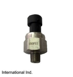 Pressure Transducer Sender 150 Psi 5v Stainless Steel For Oil Fuel Air Water