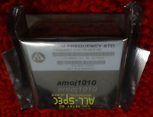 New Fe 5650a Option 58 Rubidium Frequency Std Frequency Electronics Inc