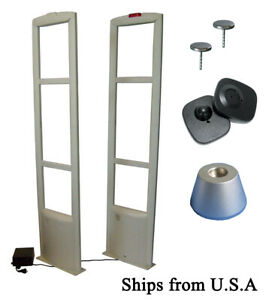 8 2mhz Eas Checkpoint Compatible Store Security System With Tag pin