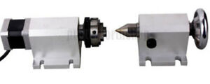 Cnc Router Rotational Rotary Axis A axis L 4th axis tailstock Engraving Machine
