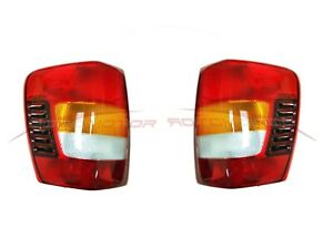 For 2002 2004 Jeep Grand Cherokee Tail Lights Driver Passenger Side Lh rh