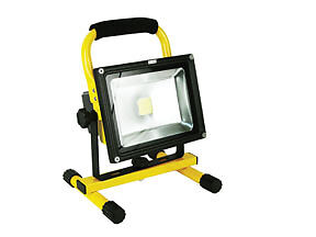 Jacko 20w Cordless Rechargeable Led Work Light W 120v Car Charger zt50220