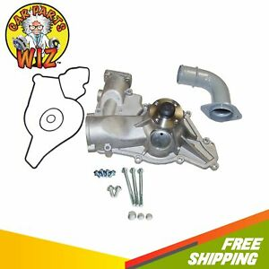 Water Pump Fits 96 03 Ford E F Series Power Stroke Diesel 7 3l Ohv 16v