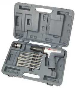 Ingersoll Rand Hd Long Barrel Air Hammer Kit With Quick Change ir 118maxk