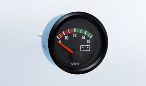 Vdo Gauge Voltmeter Genuine 12v Cockpit 332 932 2 52mm Bracket W harness