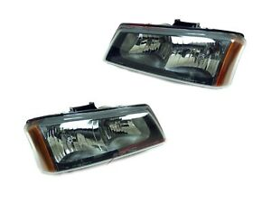 For 2005 2007 Chevy Silverado 1500 2500 3500 Hd Head Lights Pair Lh rh